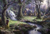 New Thomas Kinkade Disney Paintings