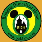 Bringing Disneyland Home Logo Pin